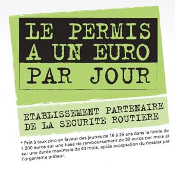 Permis 1 Euro Par Jour Mendiboure Formation