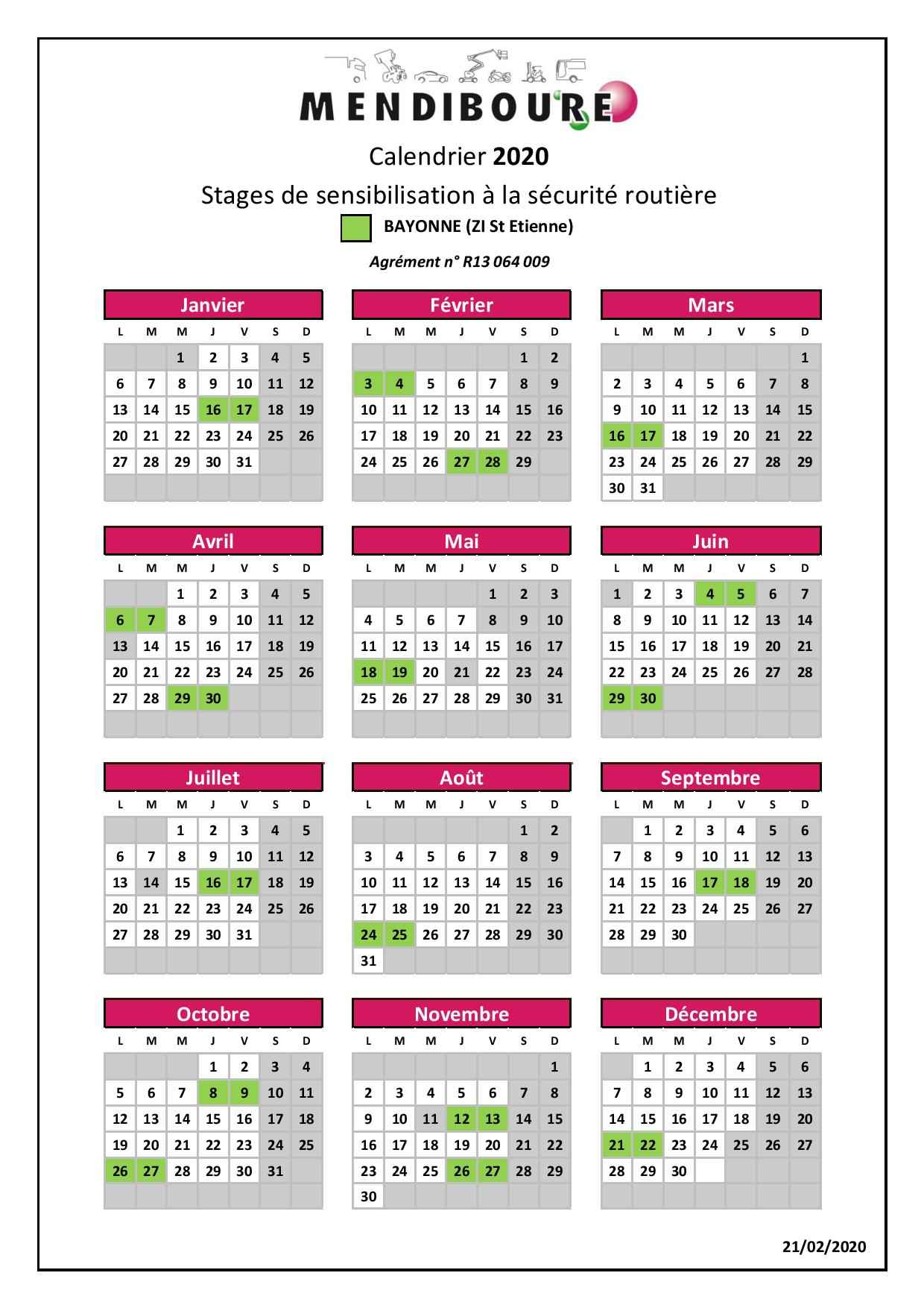 Calendrier 2020 Stages Pap Bay Page 001